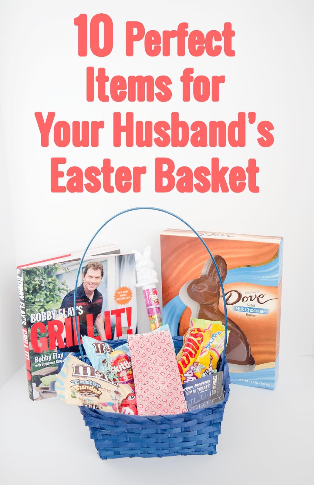 husband's easter basket