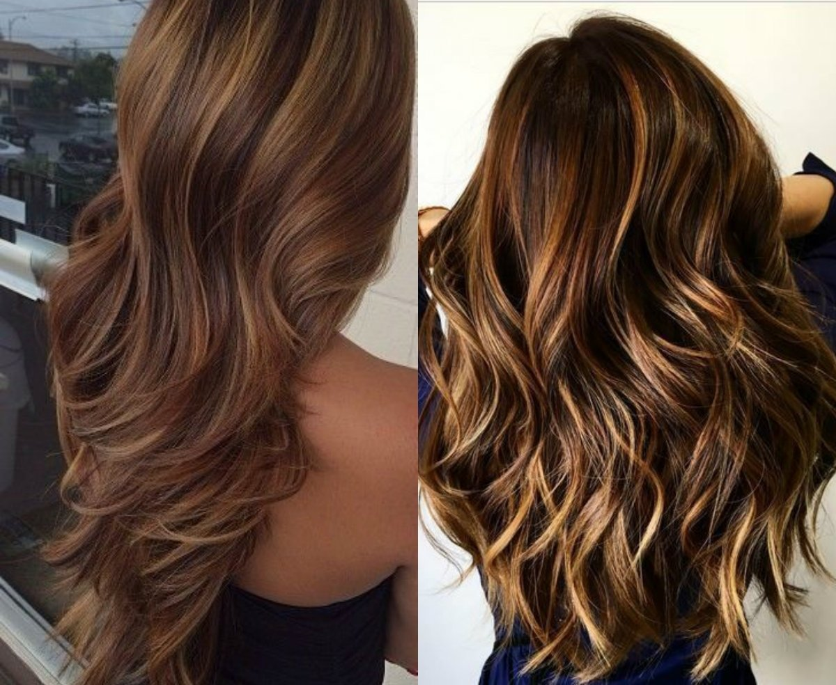10 Stunning Hair Highlight Ideas For Brown Hair hypnotizing long brown hair with highlights hairdrome