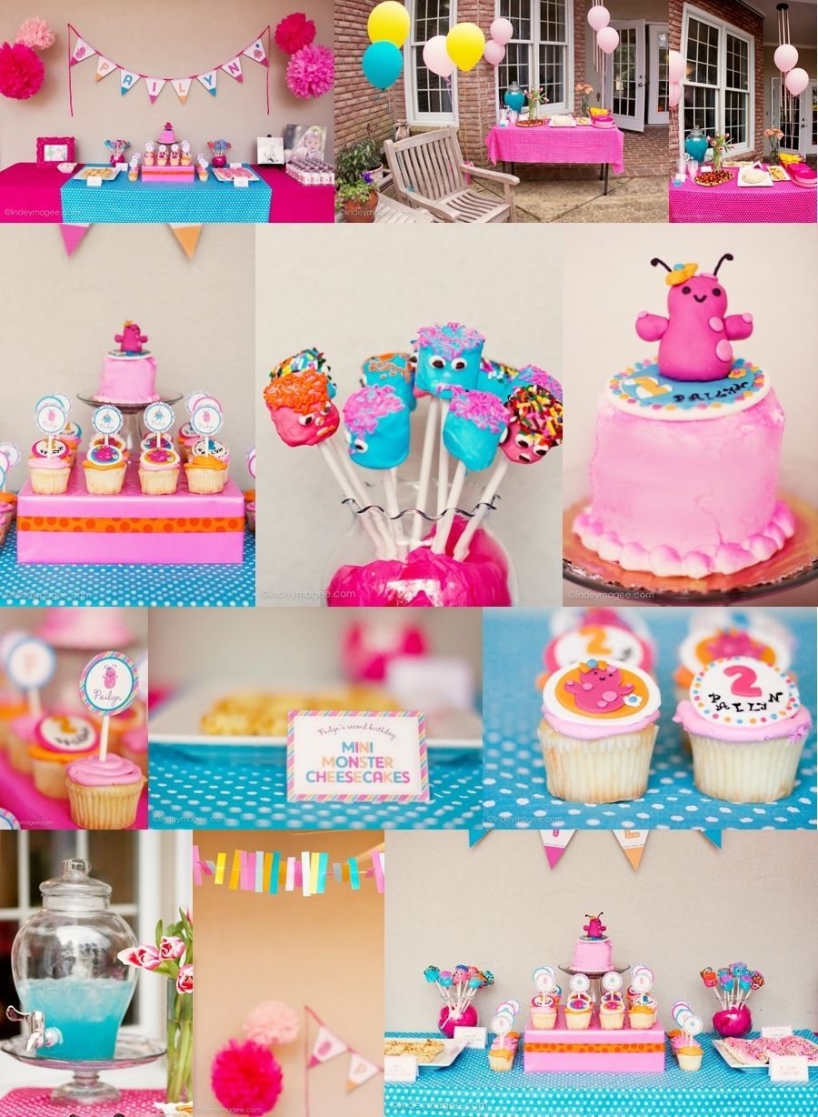 10 Best 3 Yr Old Girl Birthday Party Ideas i kind of always felt cheated out of the monster theme having a 23