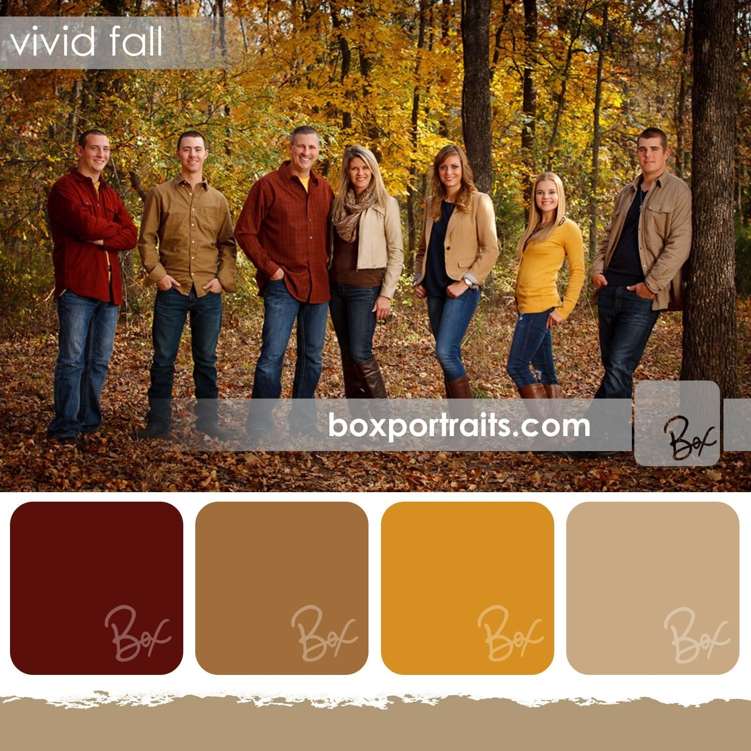 10 Lovable Color Ideas For Family Pictures i like the third color palette for a portrait wall i have planned