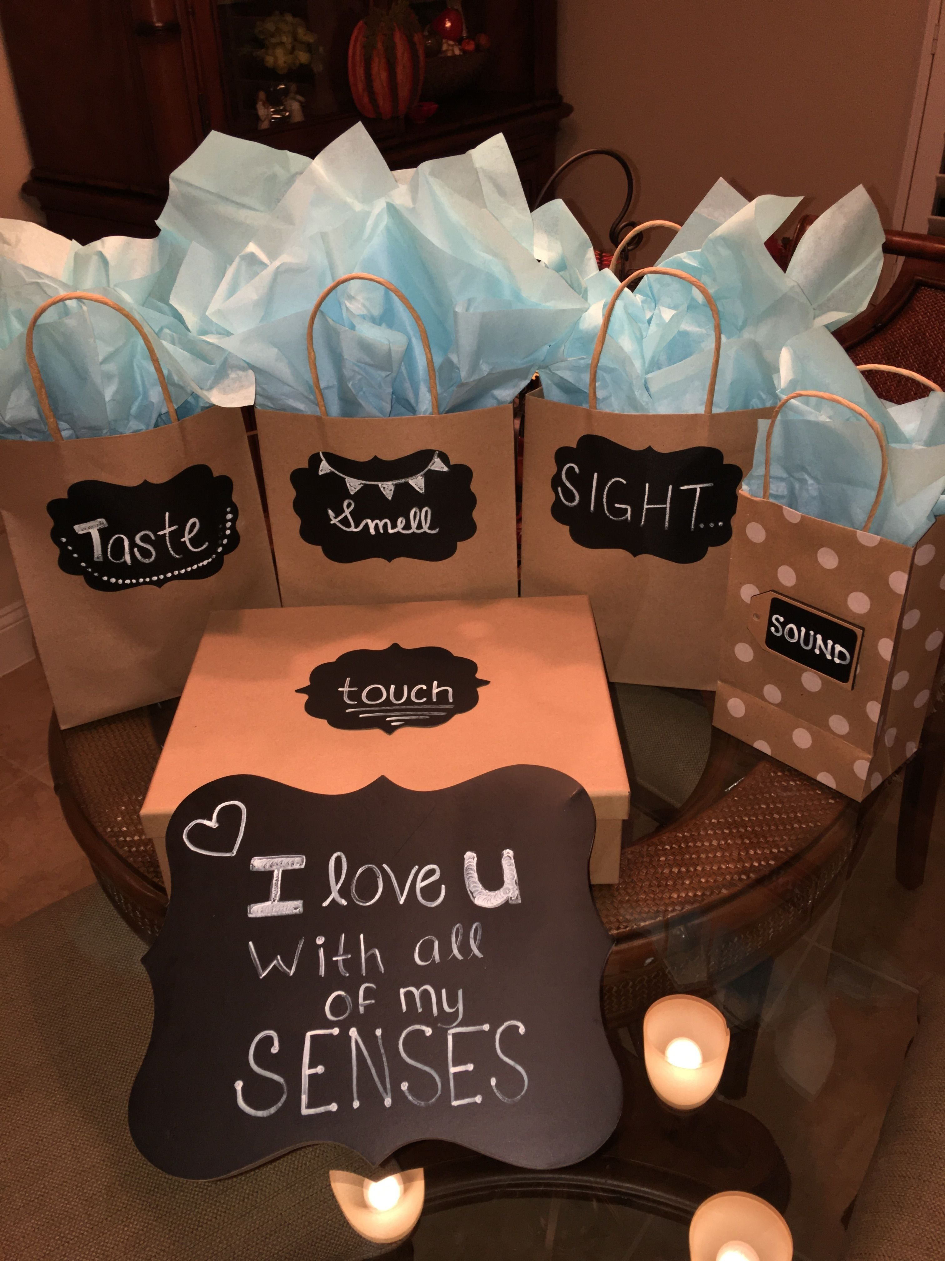 10 Lovable Romantic Birthday Gift Ideas Boyfriend I Love You With All Of My Senses
