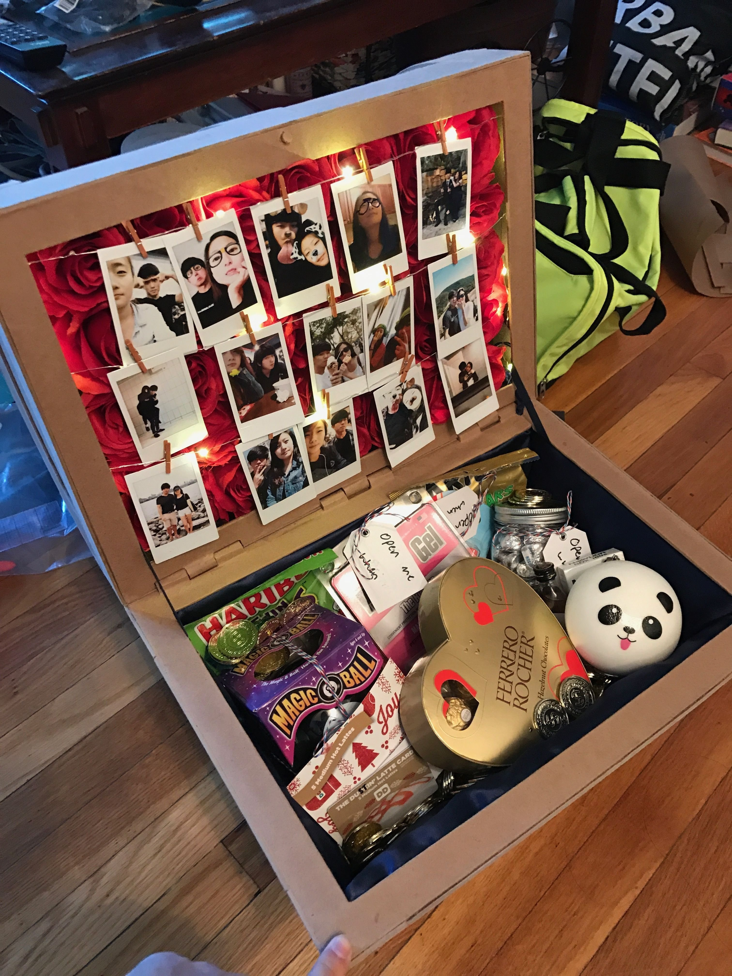 10 Attractive Birthday Present Ideas For Girlfriend I Made A Treasure Chest Out Of Paper