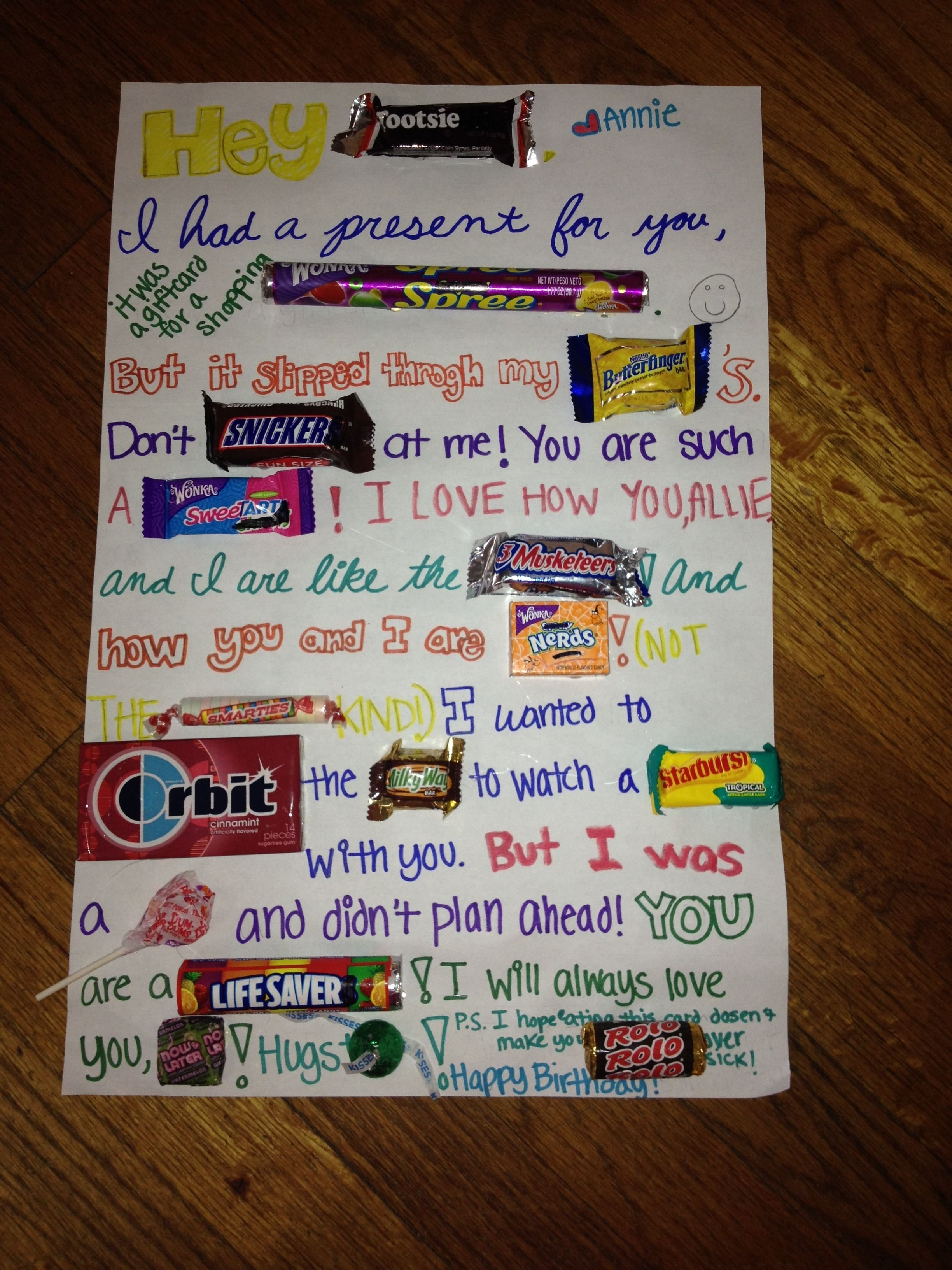 10 Nice Birthday Present Ideas For Best Friend i made this for my best friends birthday a r t s y pinterest 2020