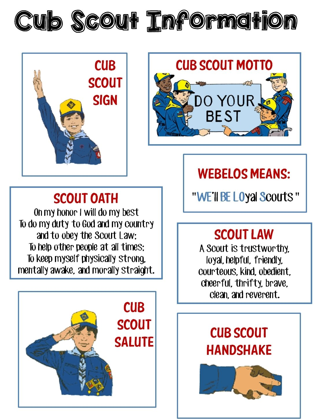 10 Lovely Ideas For Boy Scout Meetings i made this to keep the boys busy for our first den meeting while 2020