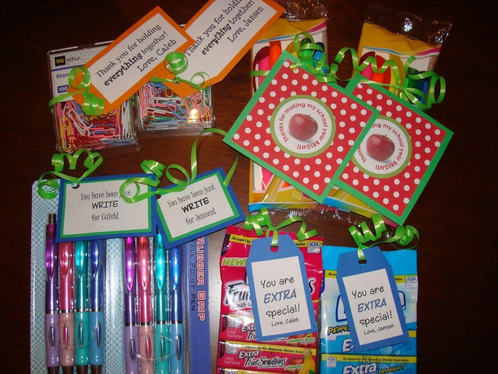 10 Best Teacher Appreciation Homemade Gift Ideas i saw that going differently in my mind teacher appreciation 2 2020
