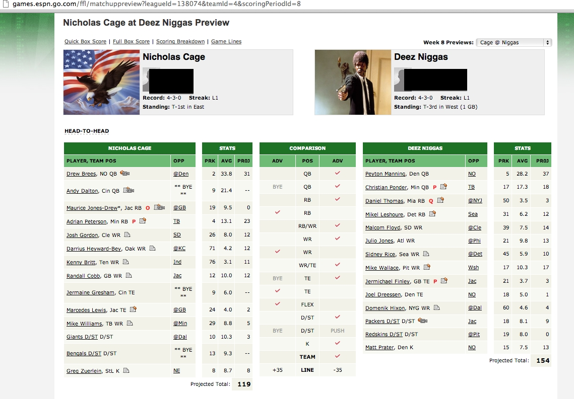 i think our fantasy football team names are getting just a little