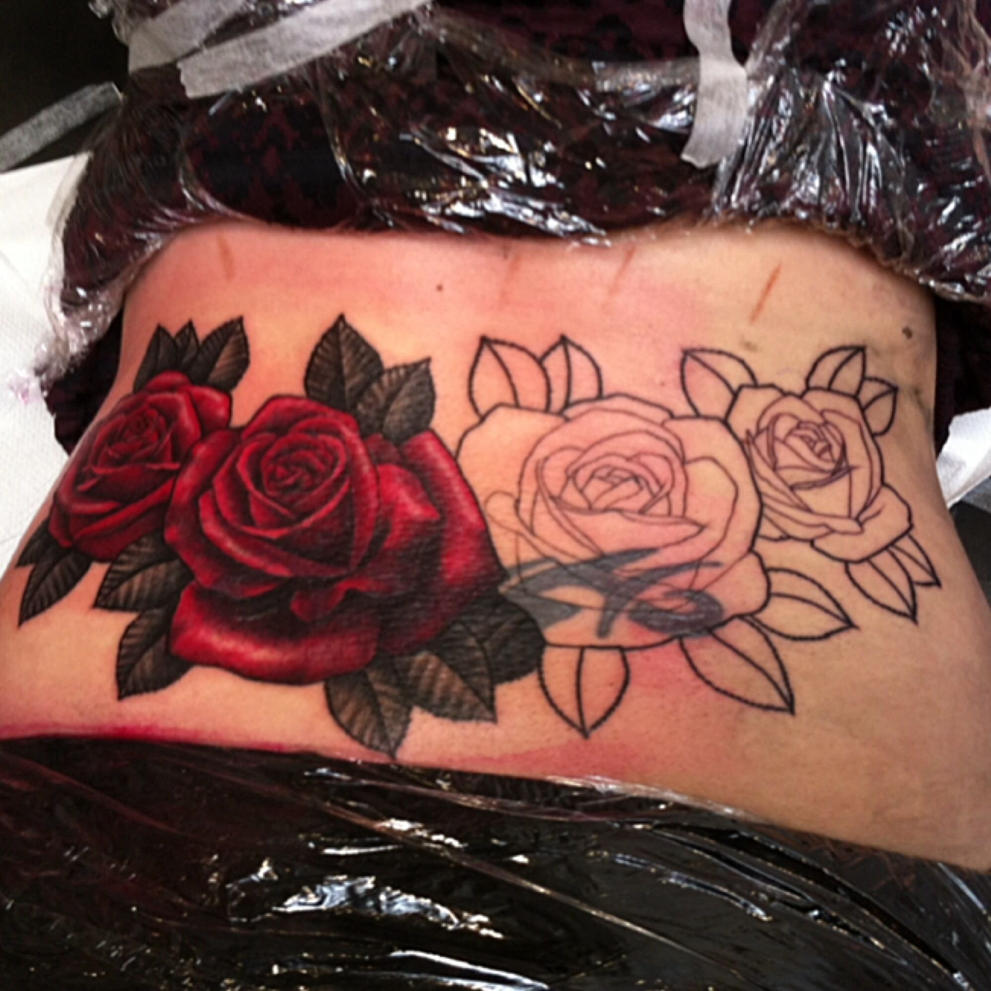 10 Elegant Tramp Stamp Cover Up Ideas i wanna do a cover up of my lower back tattoo so bad id go with 2020