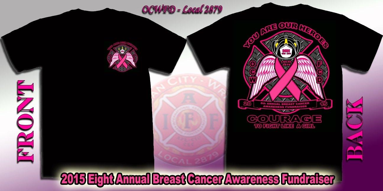 10 Fabulous Breast Cancer T Shirt Design Ideas iaff fpf local 2879 breast cancer tshirts 2021