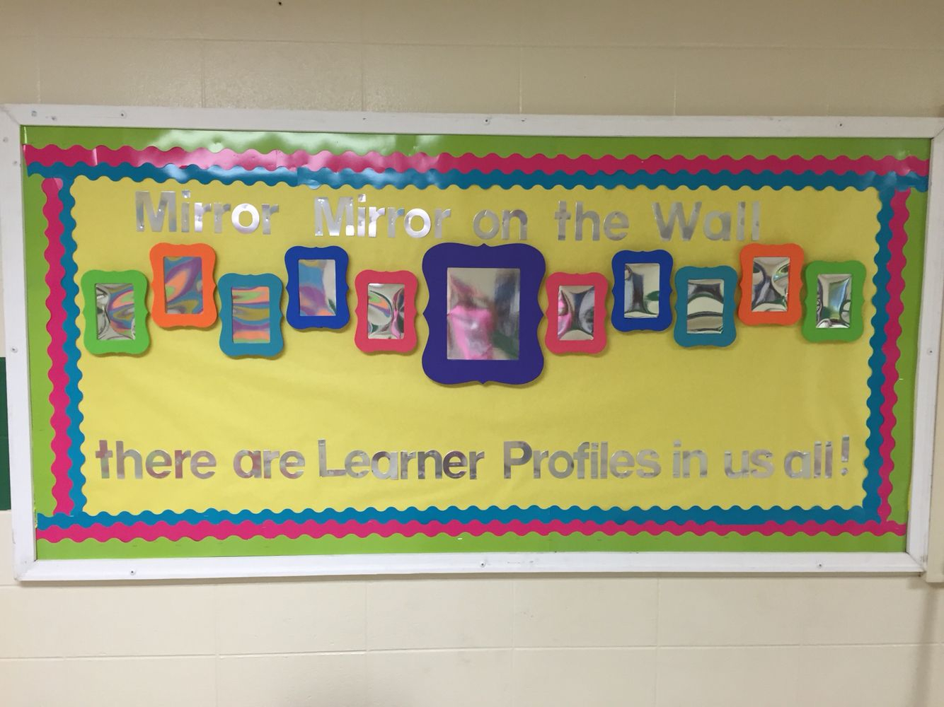 10 Lovely Bulletin Board Ideas For Elementary School ib pyp learner profile board bulletin board ideas learner 2020