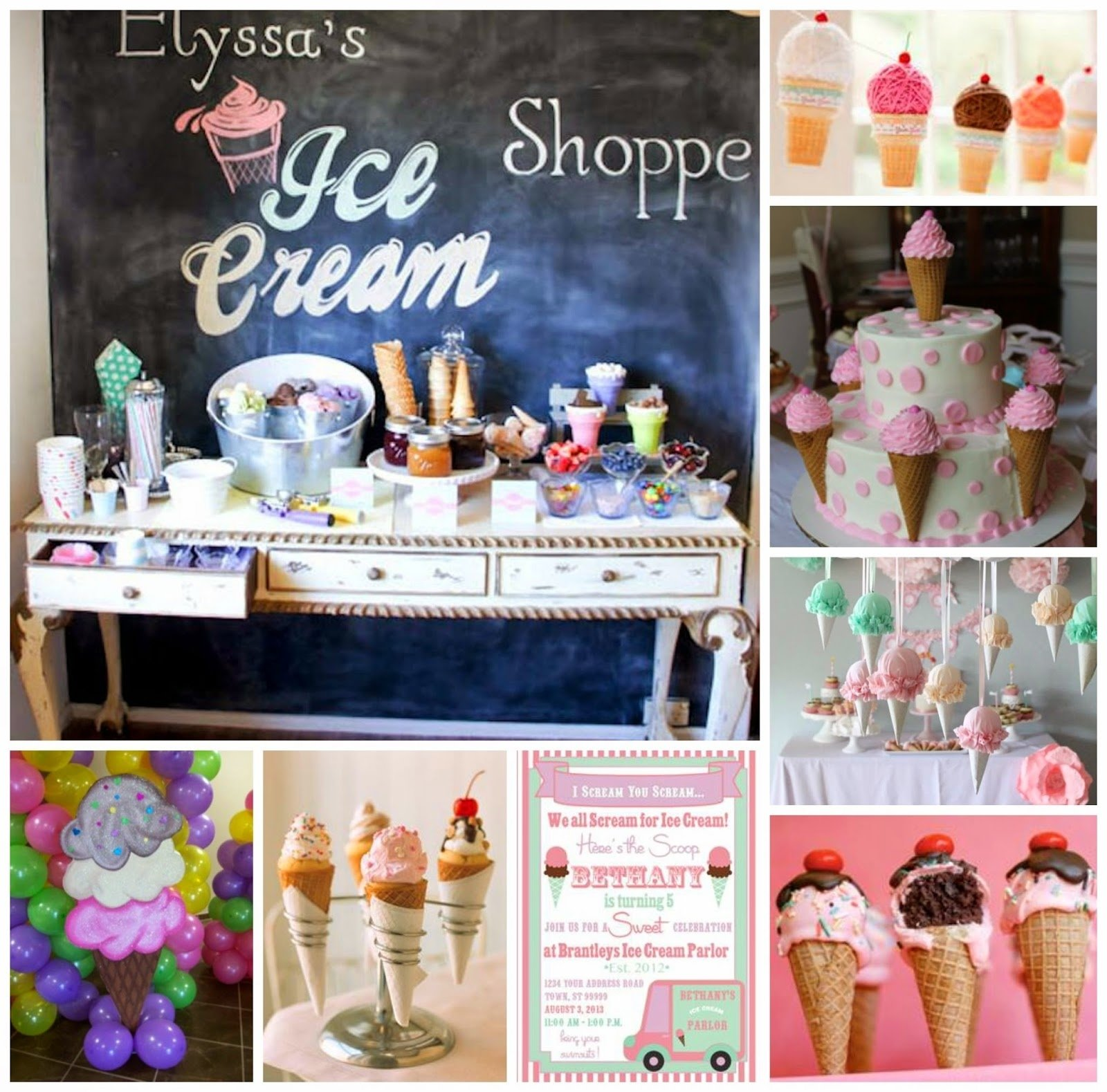 10 Most Recommended Ice Cream Social Party Ideas ice cream cone party decor tutorial a glimpse inside 2020