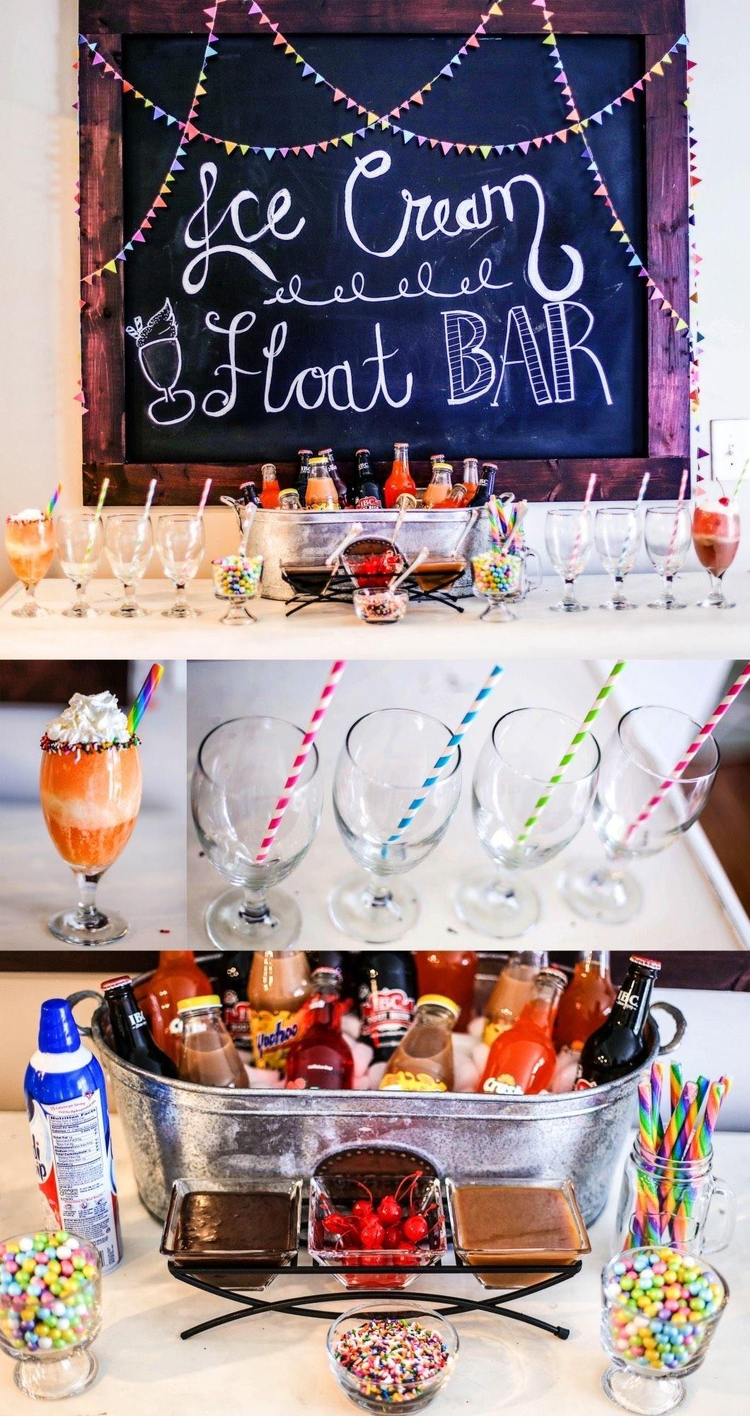 10 Lovely Christmas Party Ideas For Teenagers ice cream float bar bar sleepover and birthdays 2020