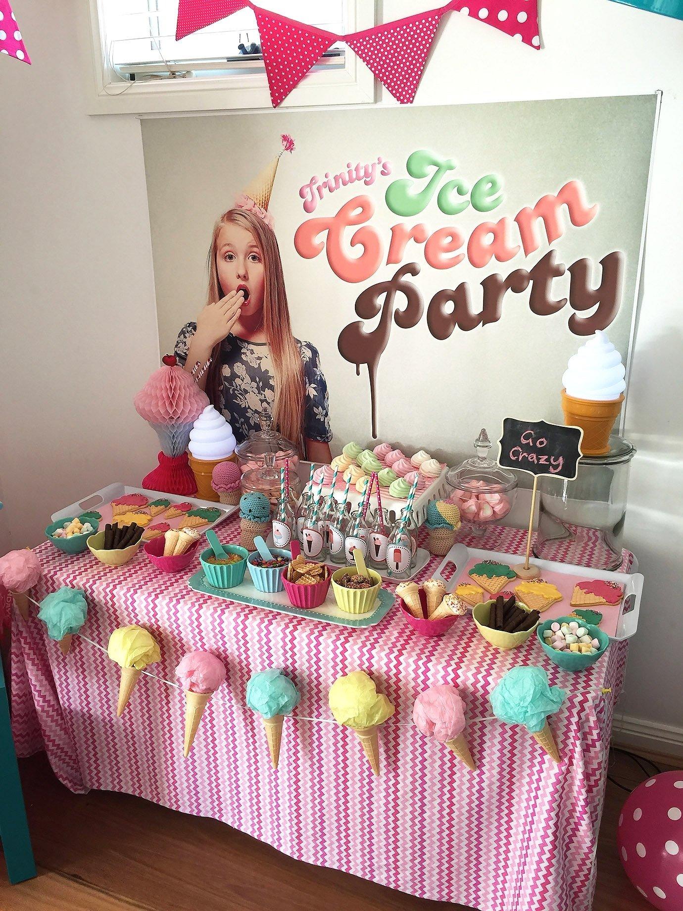 10 Fabulous Ice Cream Birthday Party Ideas ice cream party 10th birthday and birthdays 2020