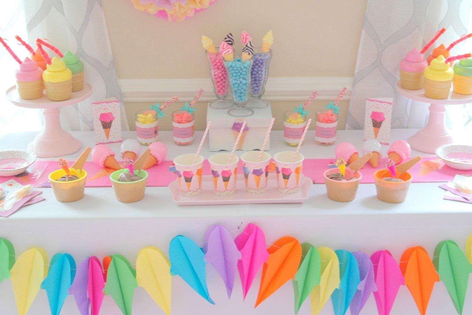 10 Fabulous Ice Cream Birthday Party Ideas ice cream party crafthubs 2020