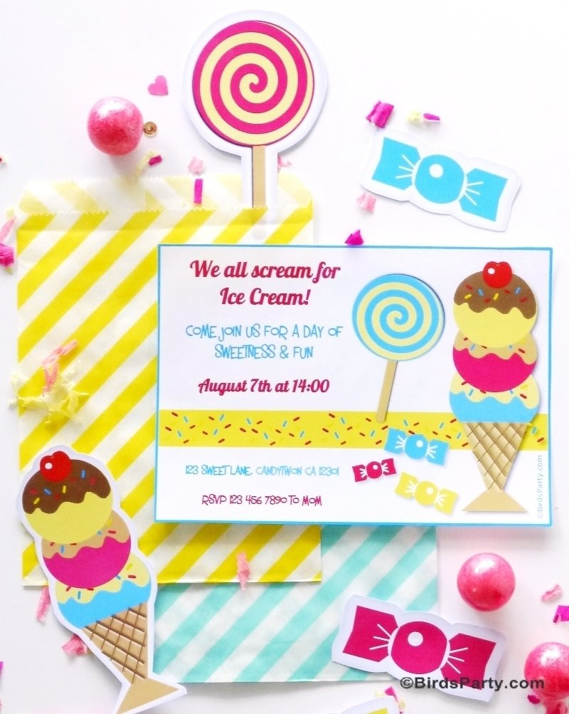 10 Most Recommended Ice Cream Social Party Ideas ice cream social birthday party printables party ideas party 2020