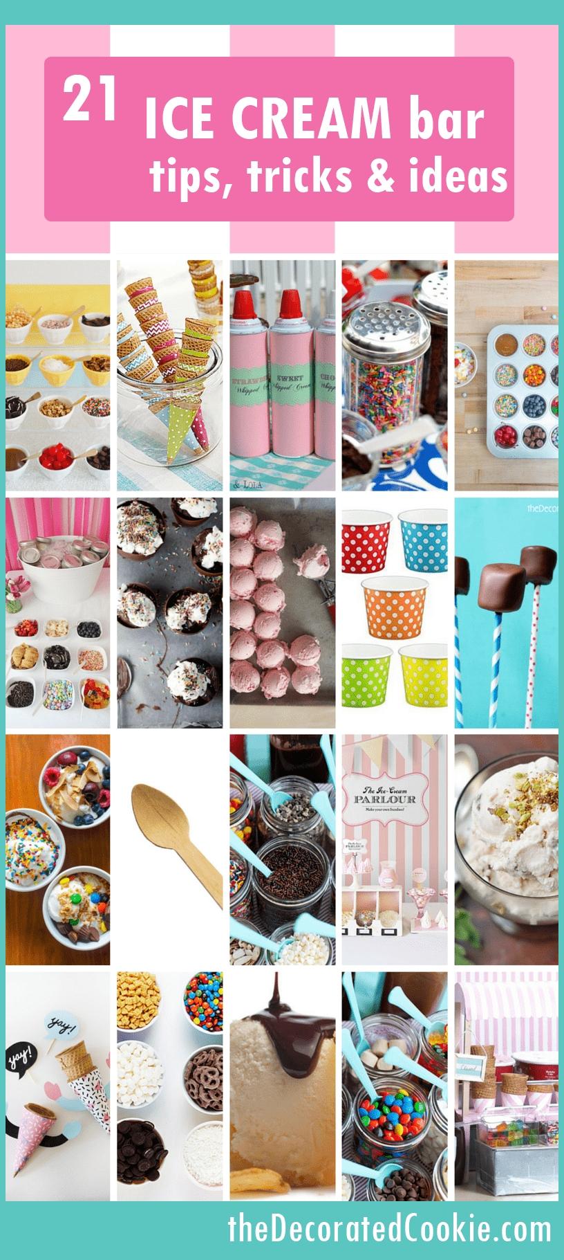 10 Beautiful Ice Cream Sundae Bar Ideas ice cream sundae bar ideas topping ideas and recipes summer party 2020