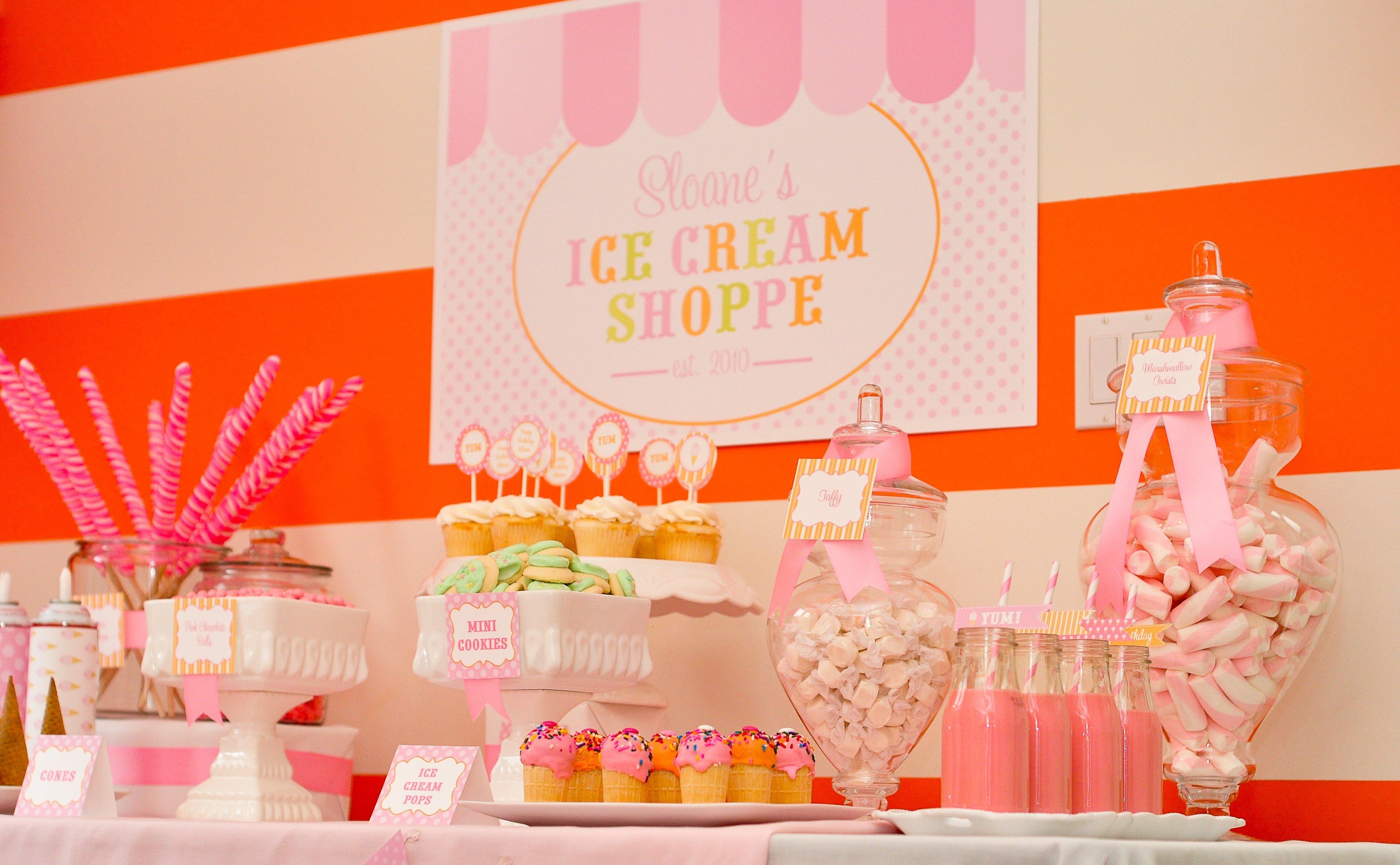 10 Fabulous Ice Cream Birthday Party Ideas ice cream themed birthday party 2020