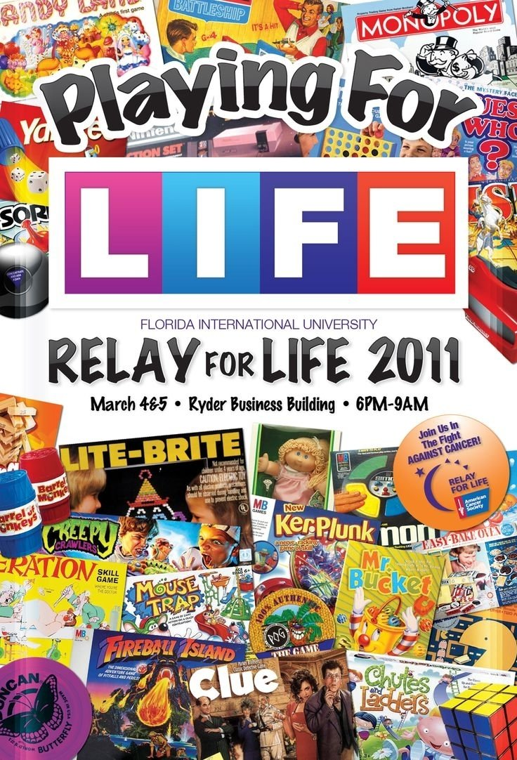 10 Most Popular Relay For Life Activity Ideas id change it to life not just a game support relay for life