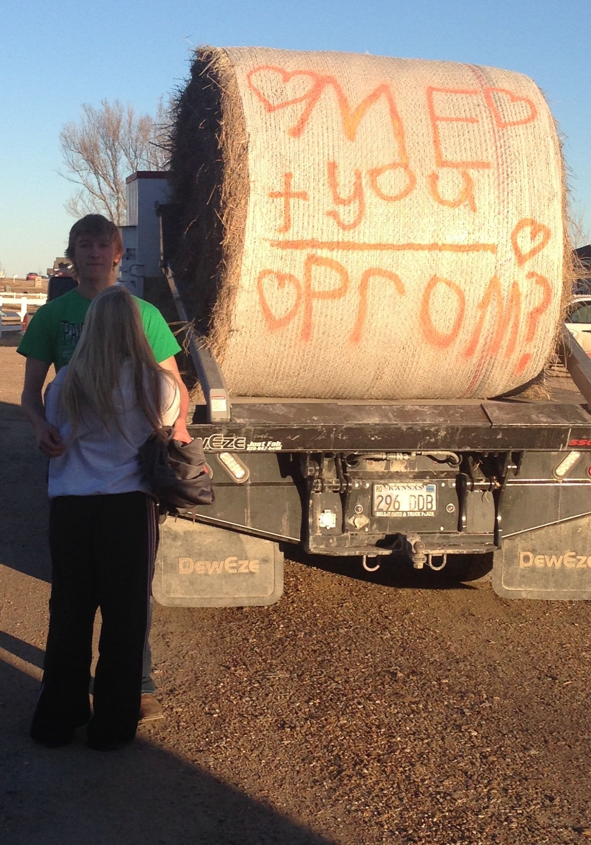 10 Fantastic Good Ideas For Asking A Girl To Prom idea for asking a girl to prom farmer style too cute prom proposal 4 2021