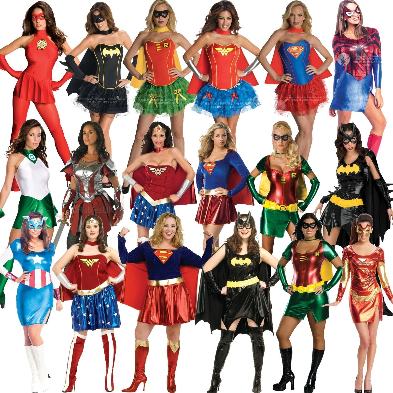 10 Stylish Superhero Costume Ideas For Women ideal for any superhero halloween or batman and catwoman themed 2020