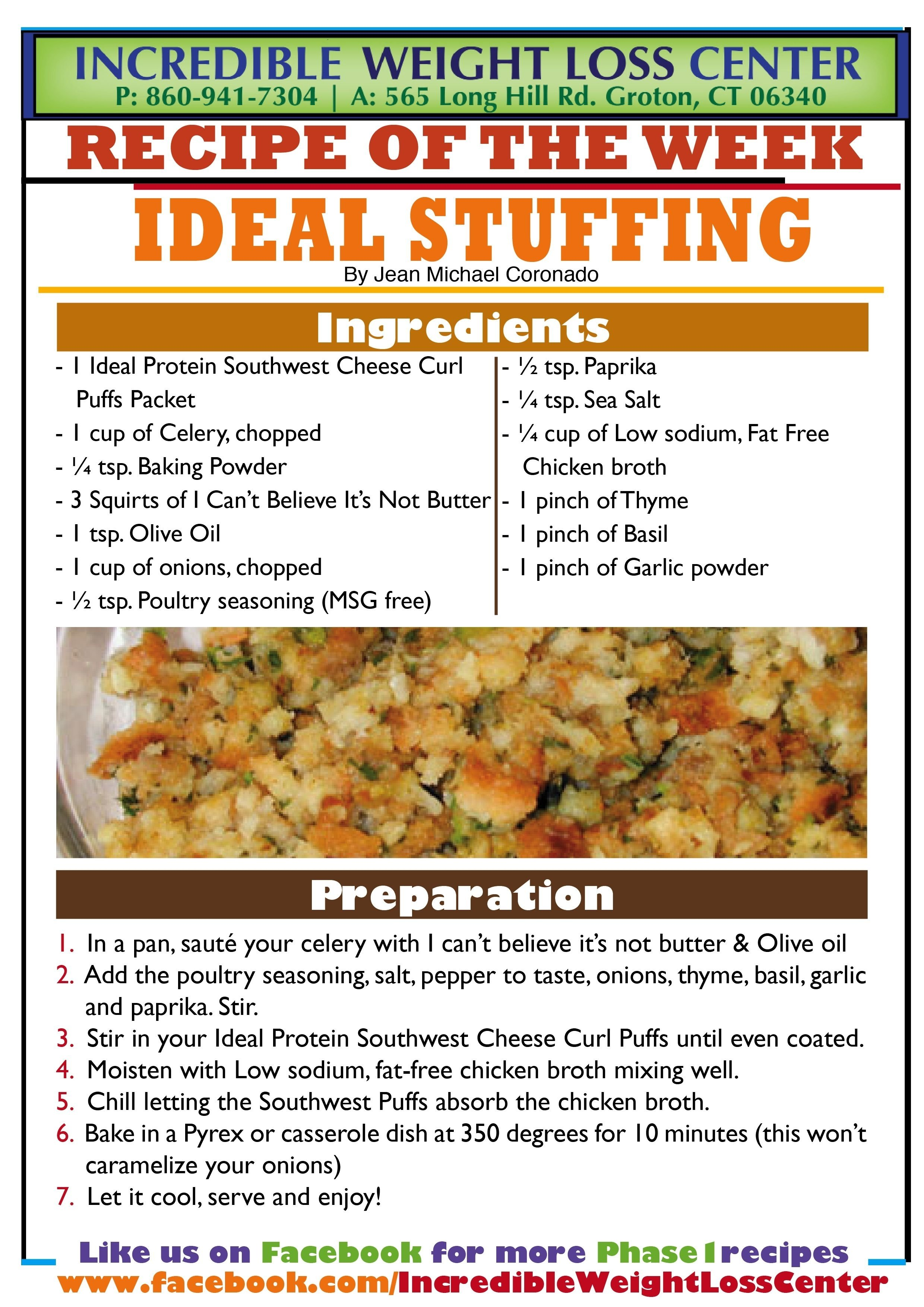 10 Wonderful Ideal Protein Phase 3 Breakfast Ideas ideal protein phase 1 stuffing with southwest cheese curl puffs 2021