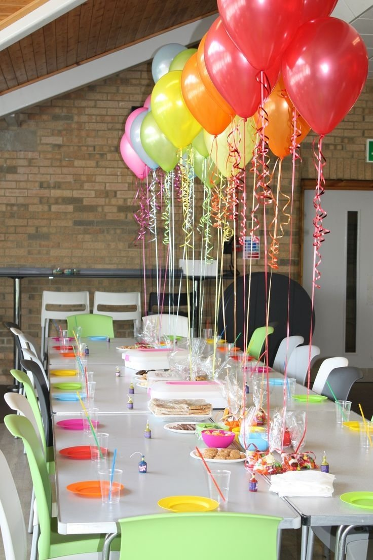 10 Perfect Table Decoration Ideas For Parties ideas about birthday table decorations with simple decoration 2017