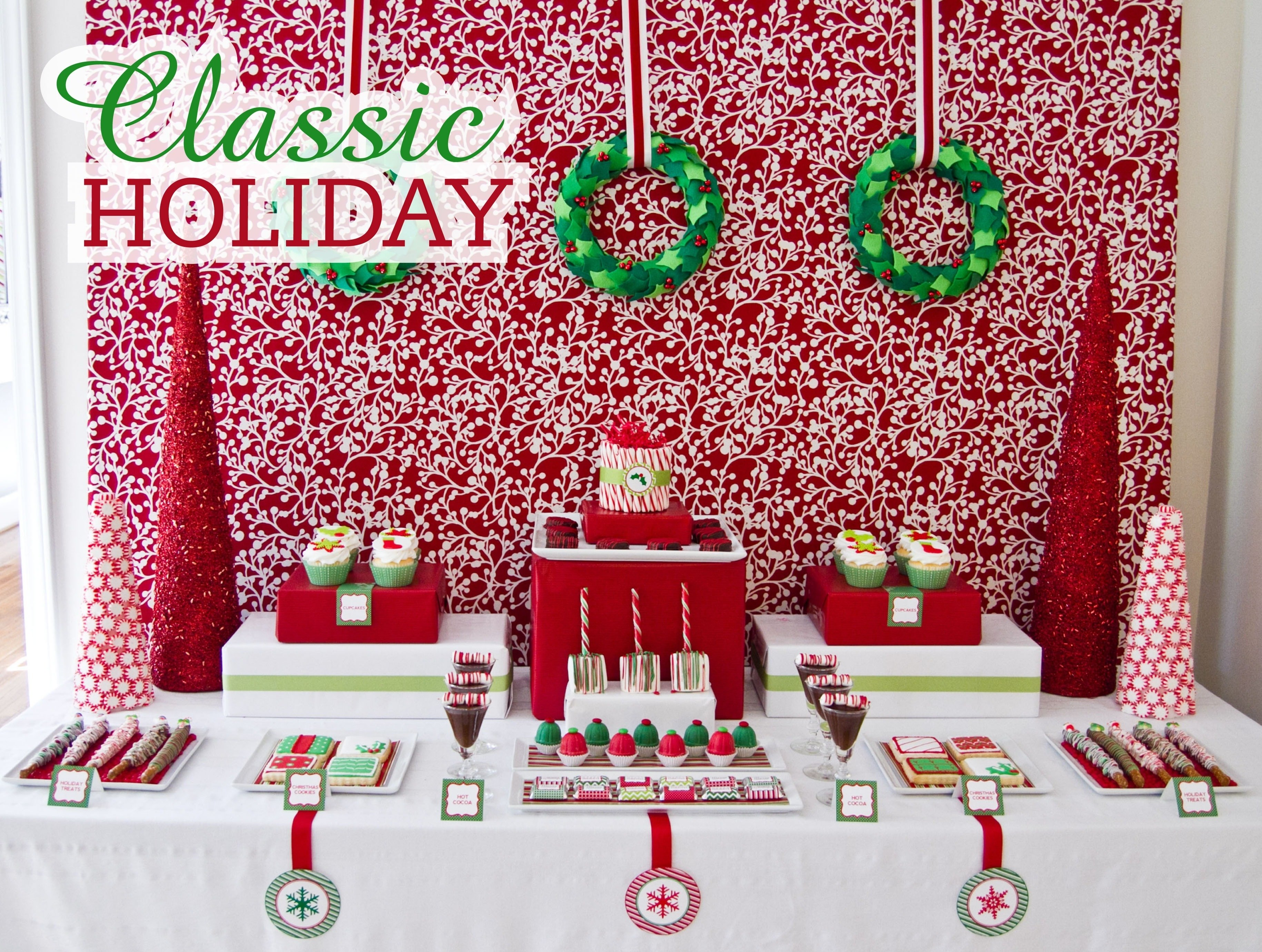 10 Ideal Ideas For Office Christmas Parties ideas about office birthday decorations on pinterest giant paper 2 2020