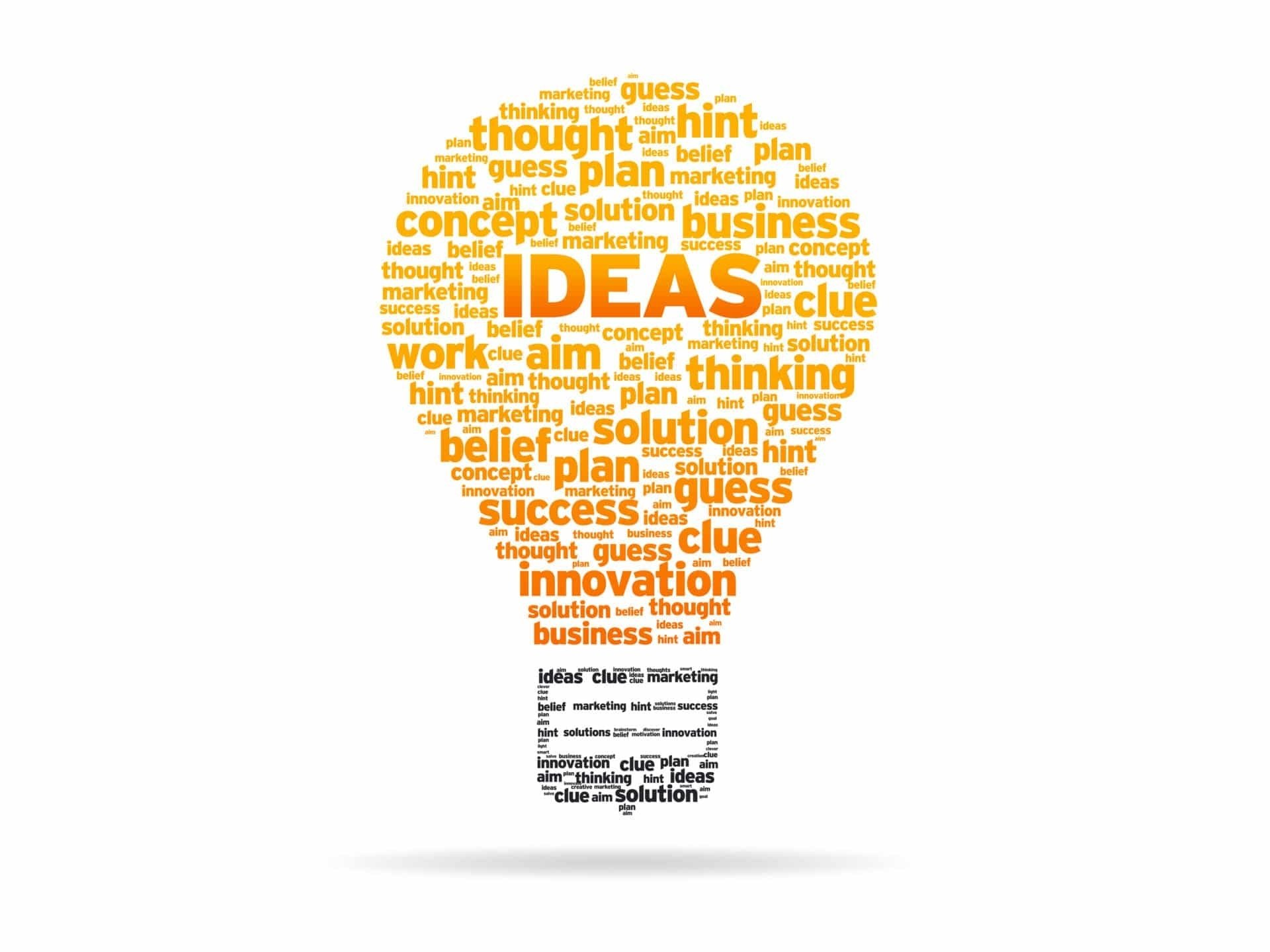 10 Gorgeous Good Ideas For A Business ideas are the lifeblood of a business prudent partners 2021