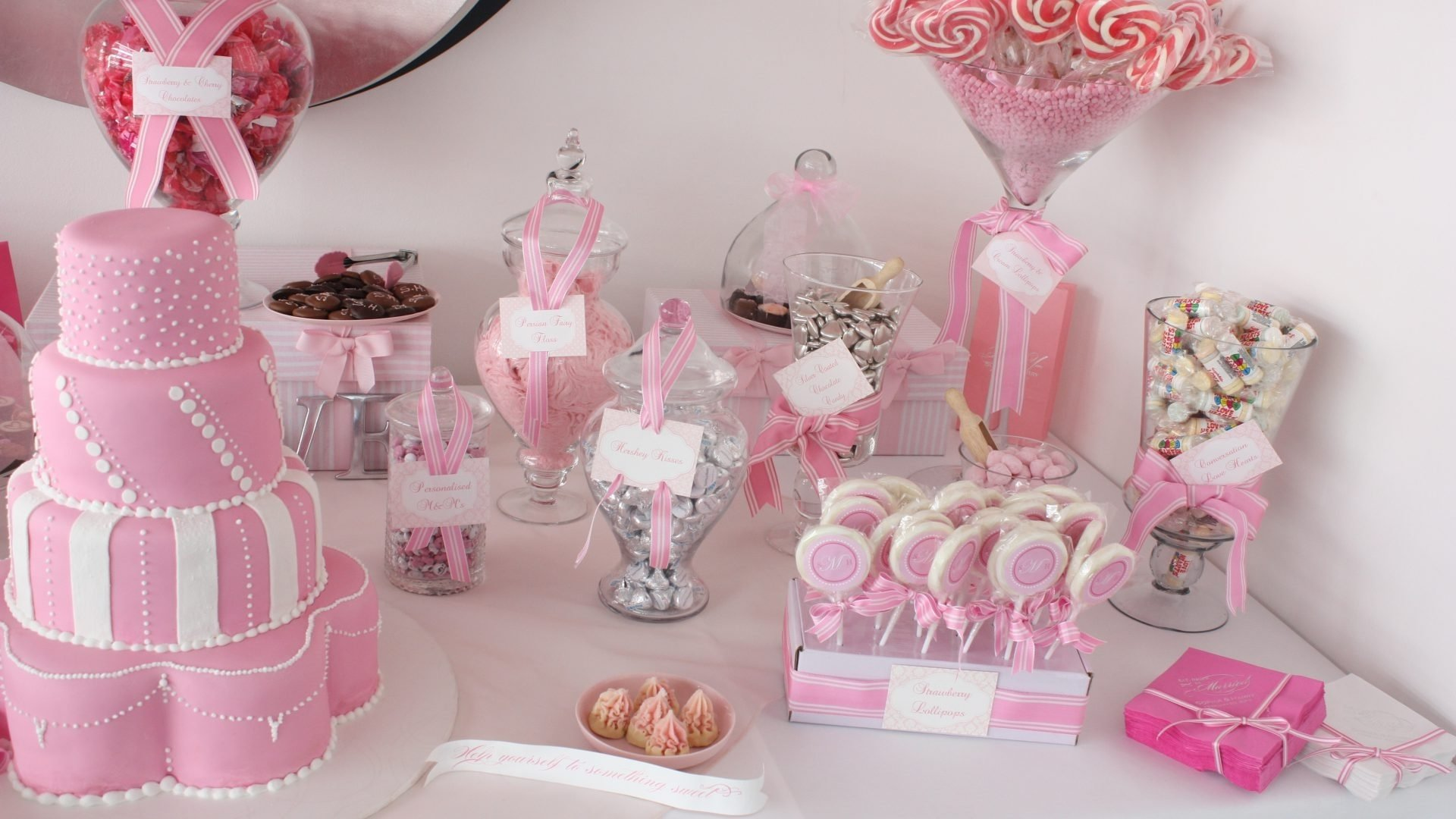 10 Unique Baby Shower Candy Buffet Ideas