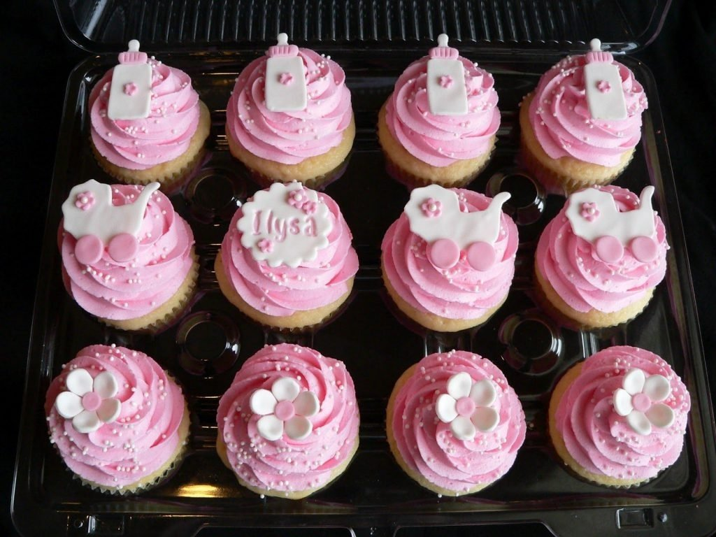 10 Perfect Girl Baby Shower Cupcake Ideas ideas baby shower cupcake for girl breathtaking robust easy cupcakes 2021