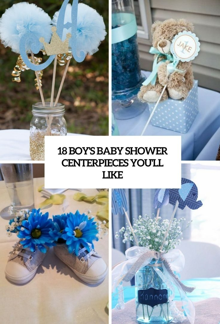 10 Perfect Baby Boy Shower Centerpiece Ideas ideas baby shower decoration boy girl simple for favors remarkable