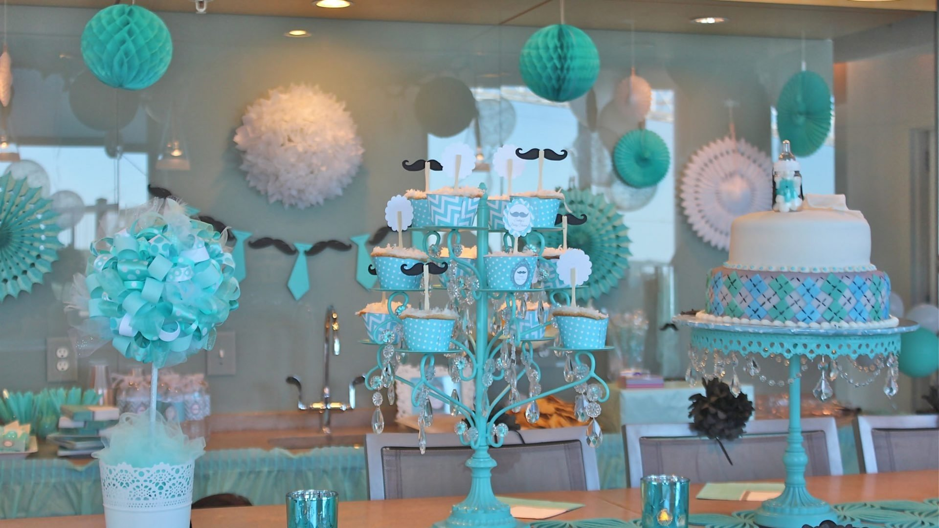 10 Attractive Decorating Ideas For A Baby Shower ideas boy baby shower decor cover magnificent decoration aztec 2021