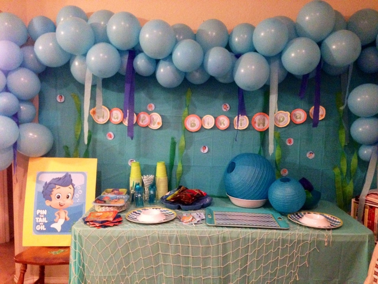 10 Fashionable Bubble Guppie Birthday Party Ideas ideas bubble guppies birthday party bubble guppies 1st birthday