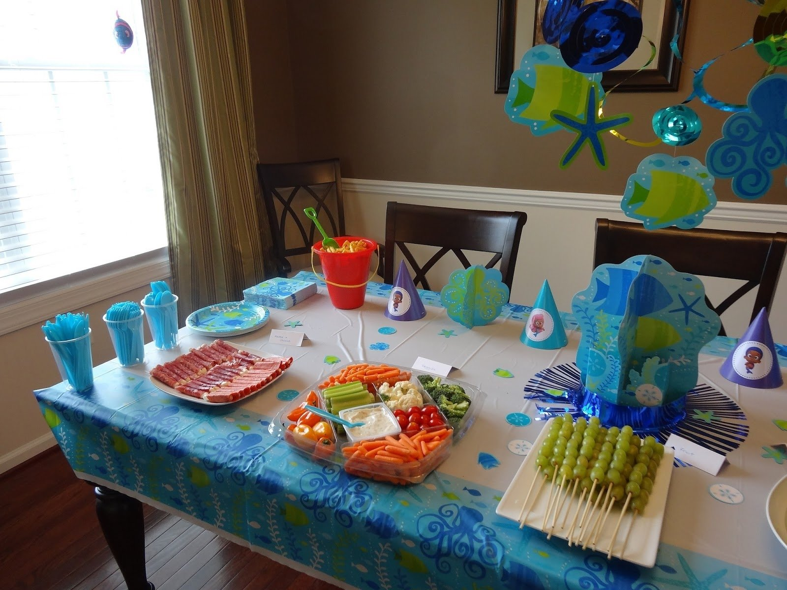 10 Trendy Bubble Guppies Birthday Party Food Ideas ideas bubble guppies birthday party bubble guppies themed