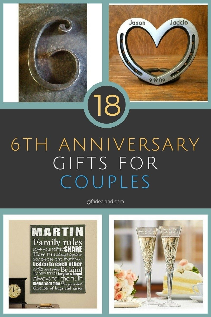 10 Unique 6Th Year Anniversary Gift Ideas ideas for 6th wedding anniversary gifts awesome 18 great 6th wedding 2021