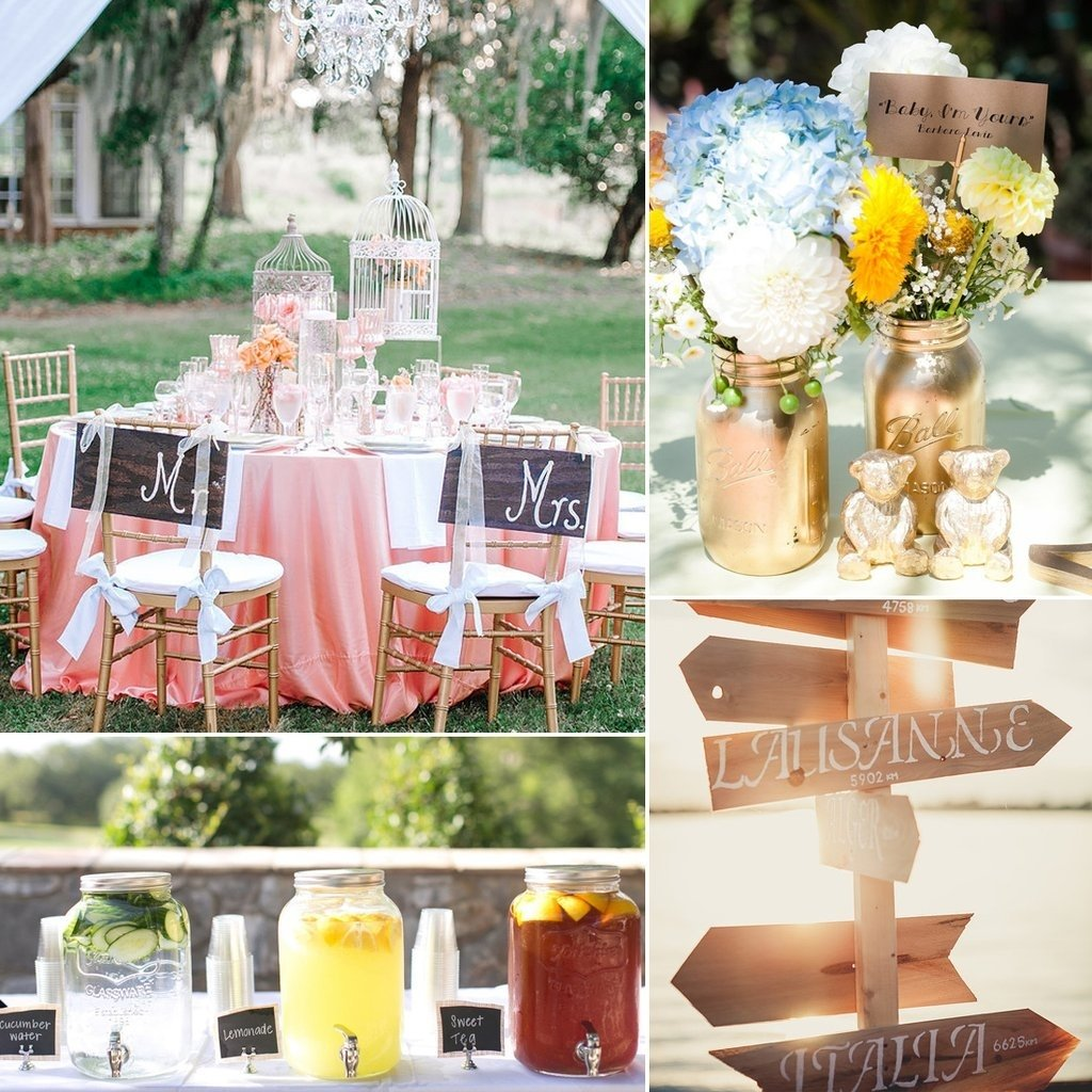 ideas for a summer wedding | popsugar home