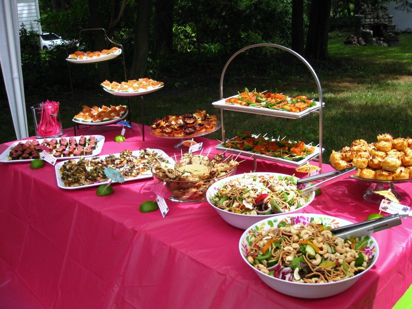 10 Cute Creative Bridal Shower Food Ideas ideas for bridal shower food fresh hawaii themed bridal shower 2020
