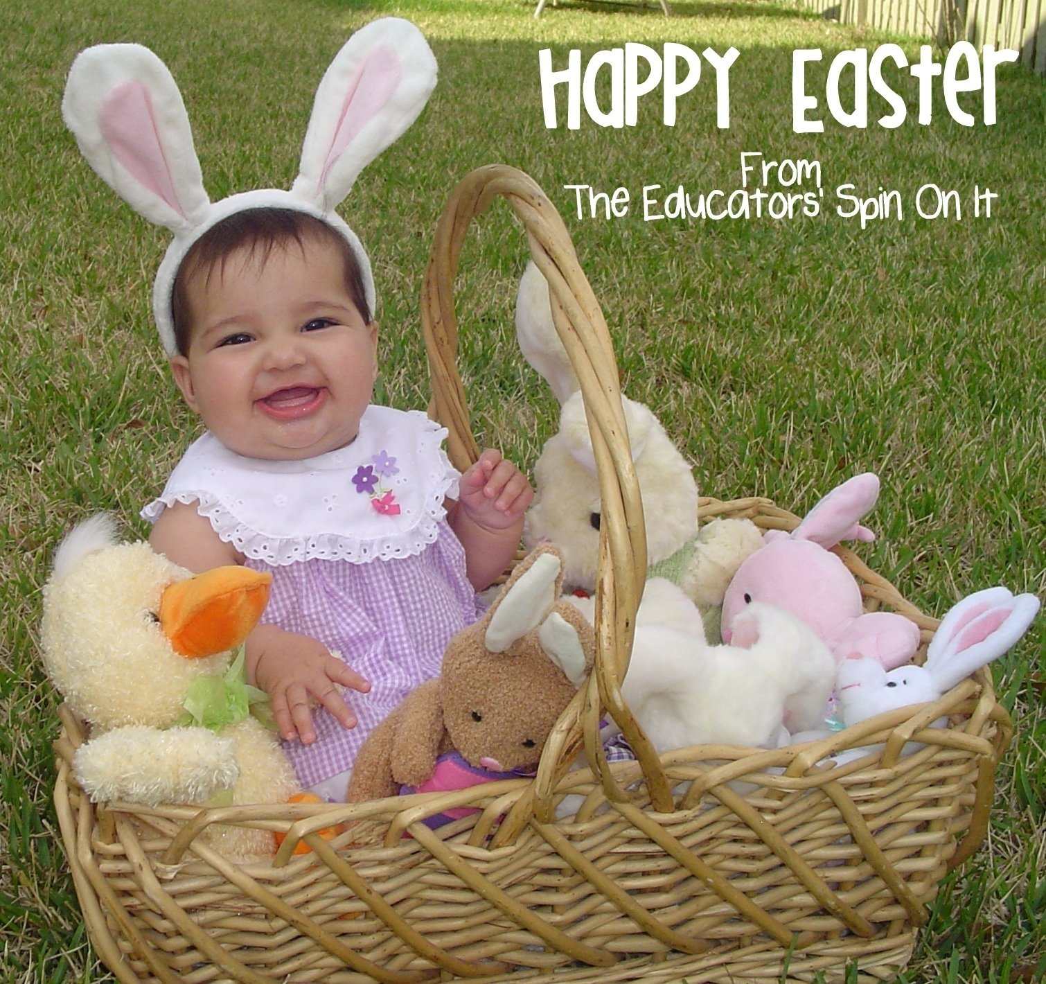 10 Elegant Easter Picture Ideas For Toddlers ideas for easter baskets for babies