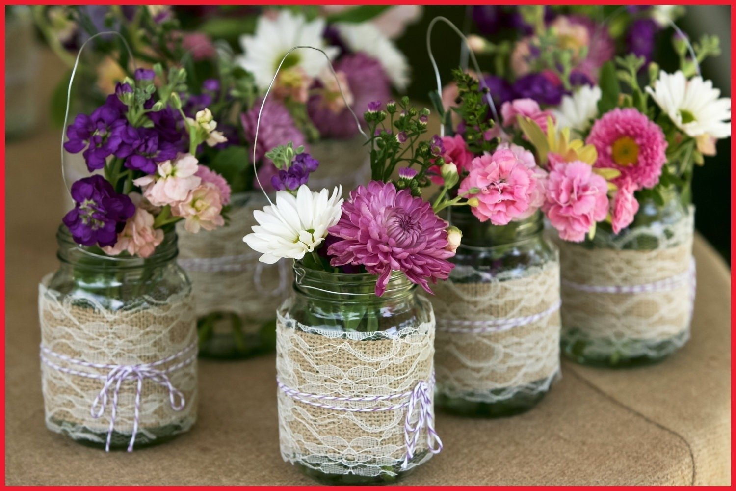 10 Lovable Mason Jar Ideas For Weddings ideas for mason jars weddings homemade jar centerpieces bridal 2020