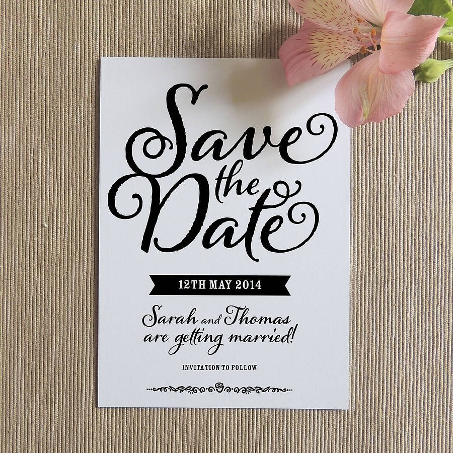 10 Amazing Cute Save The Date Ideas ideas for save the date invitations oxyline 988b1b4fbe37