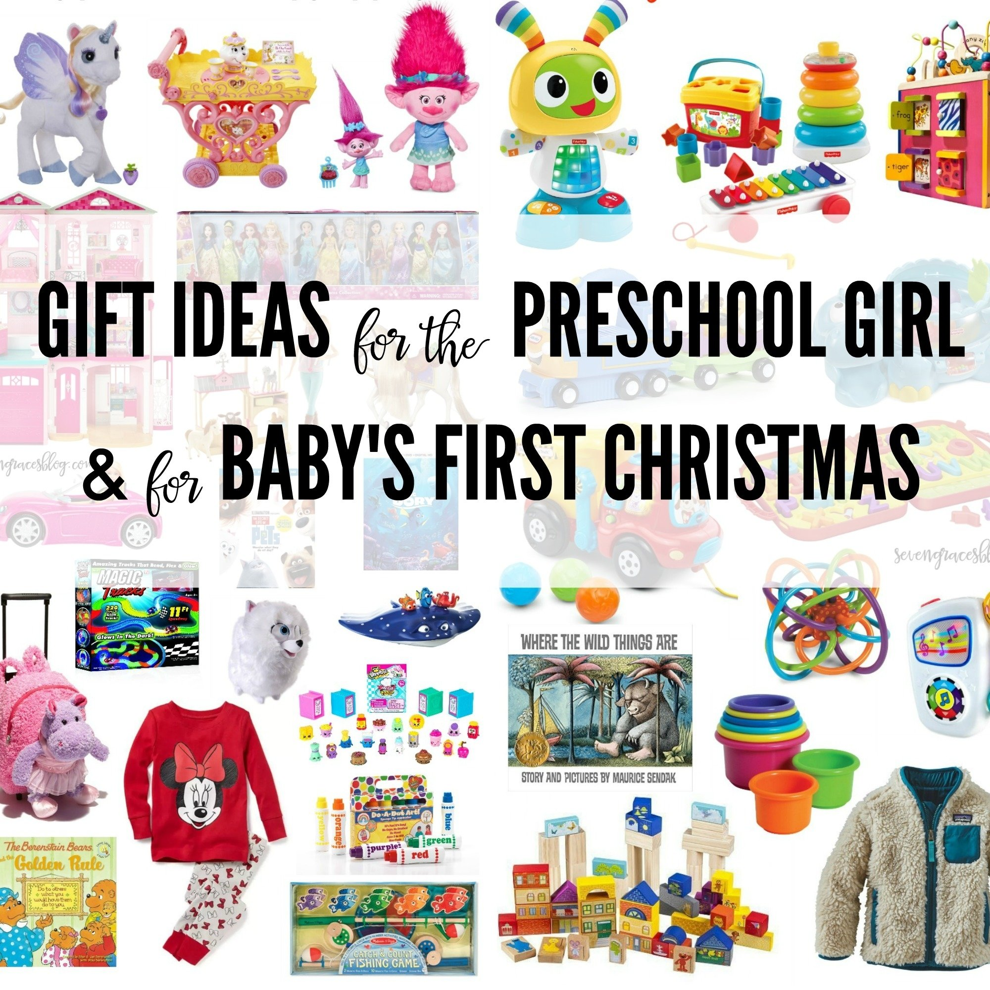 10 Ideal Baby First Christmas Gift Ideas ideas for the preschool girl and for babys first christmas 2020