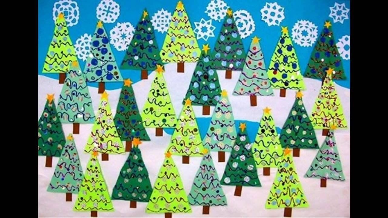 Winter Season Classroom Decorations ~ Attractive christmas tree bulletin board ideas