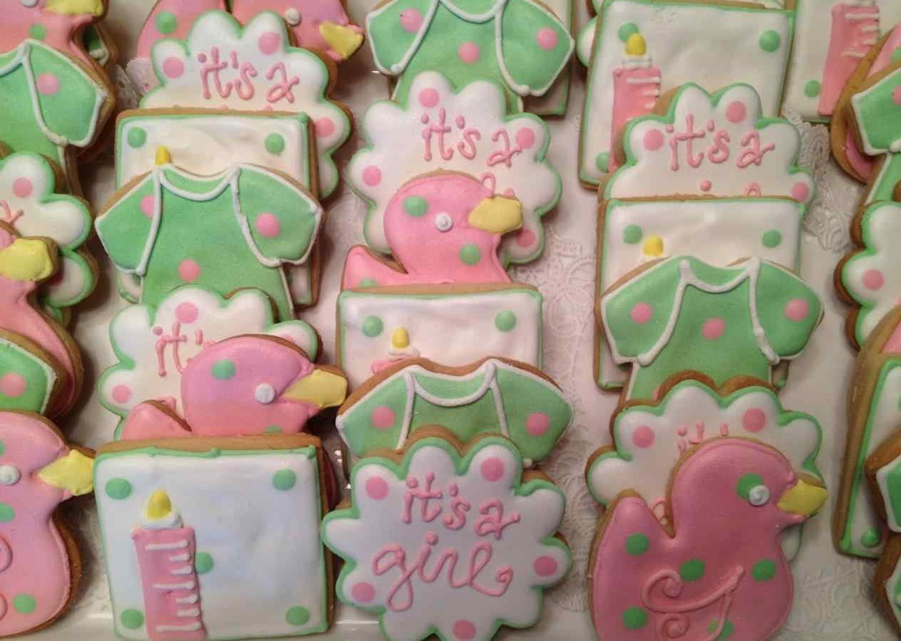 ideas incredible pink green baby shower and mint polka dot lime hot