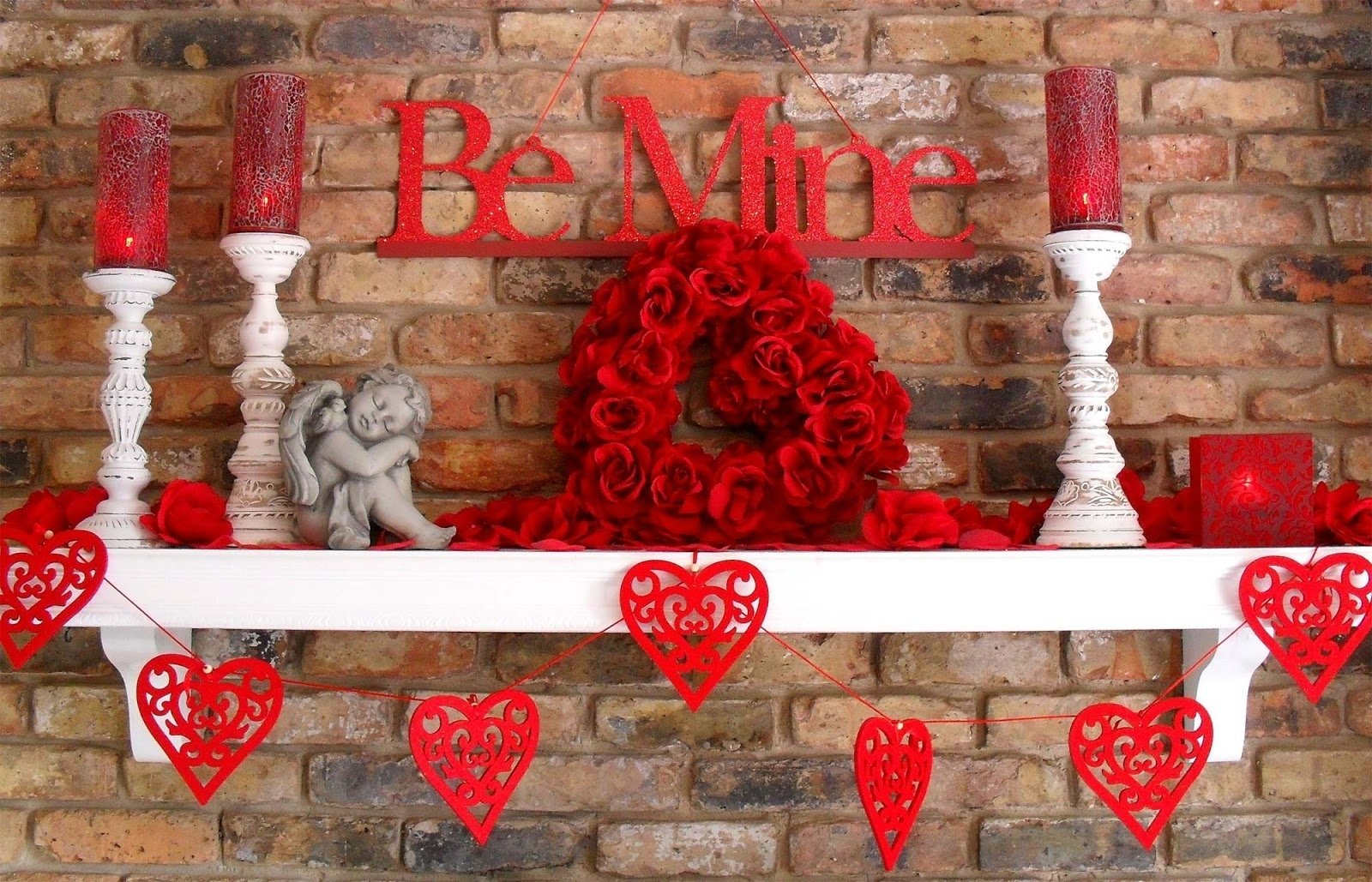 10 Great Most Romantic Valentines Day Ideas ideas most romantic mantel of fireplace in valentine day ideas 2021