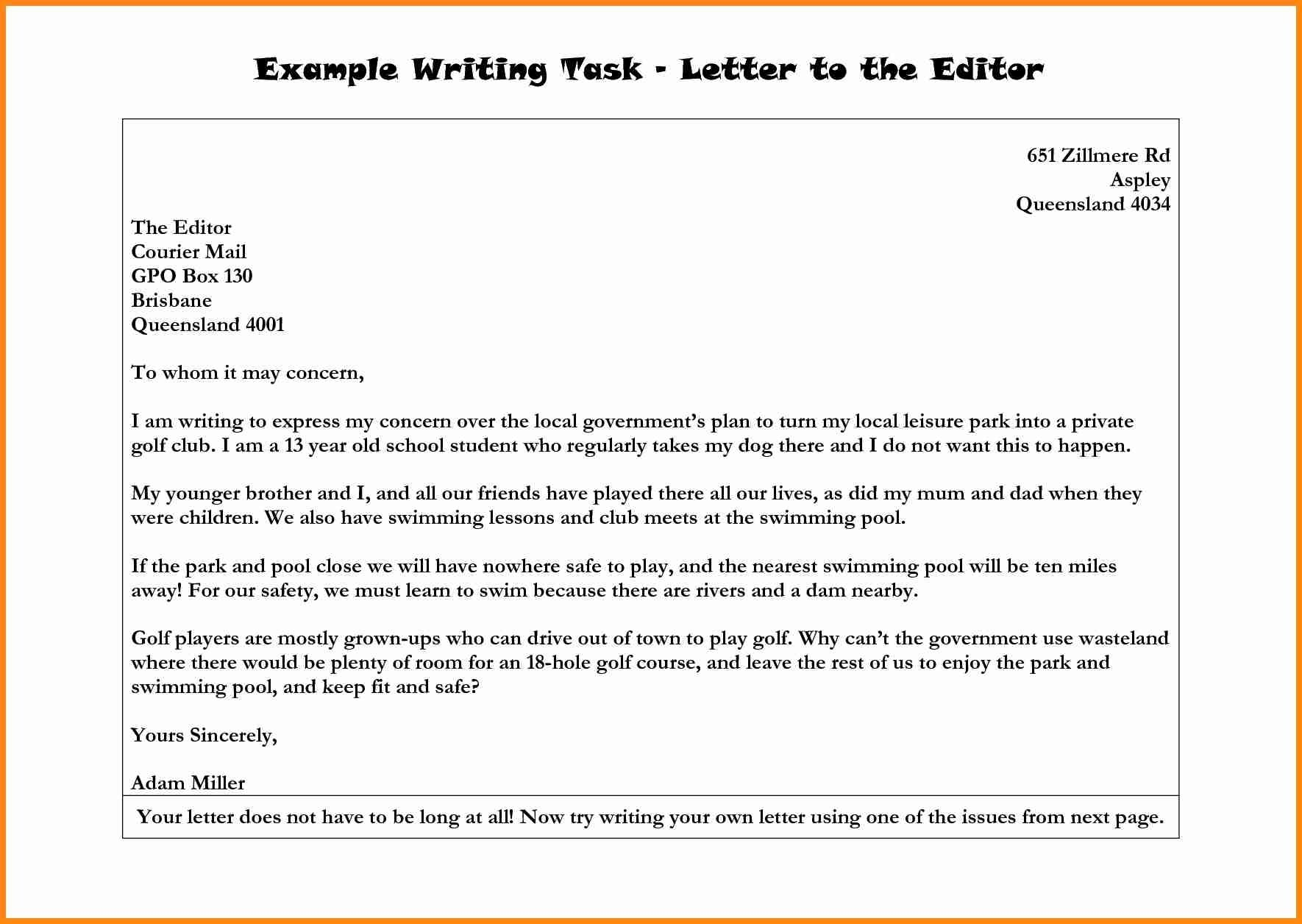 10 Elegant Letter To The Editor Ideas ideas of 10 examples of letters to the editor of a newspaper with 2020