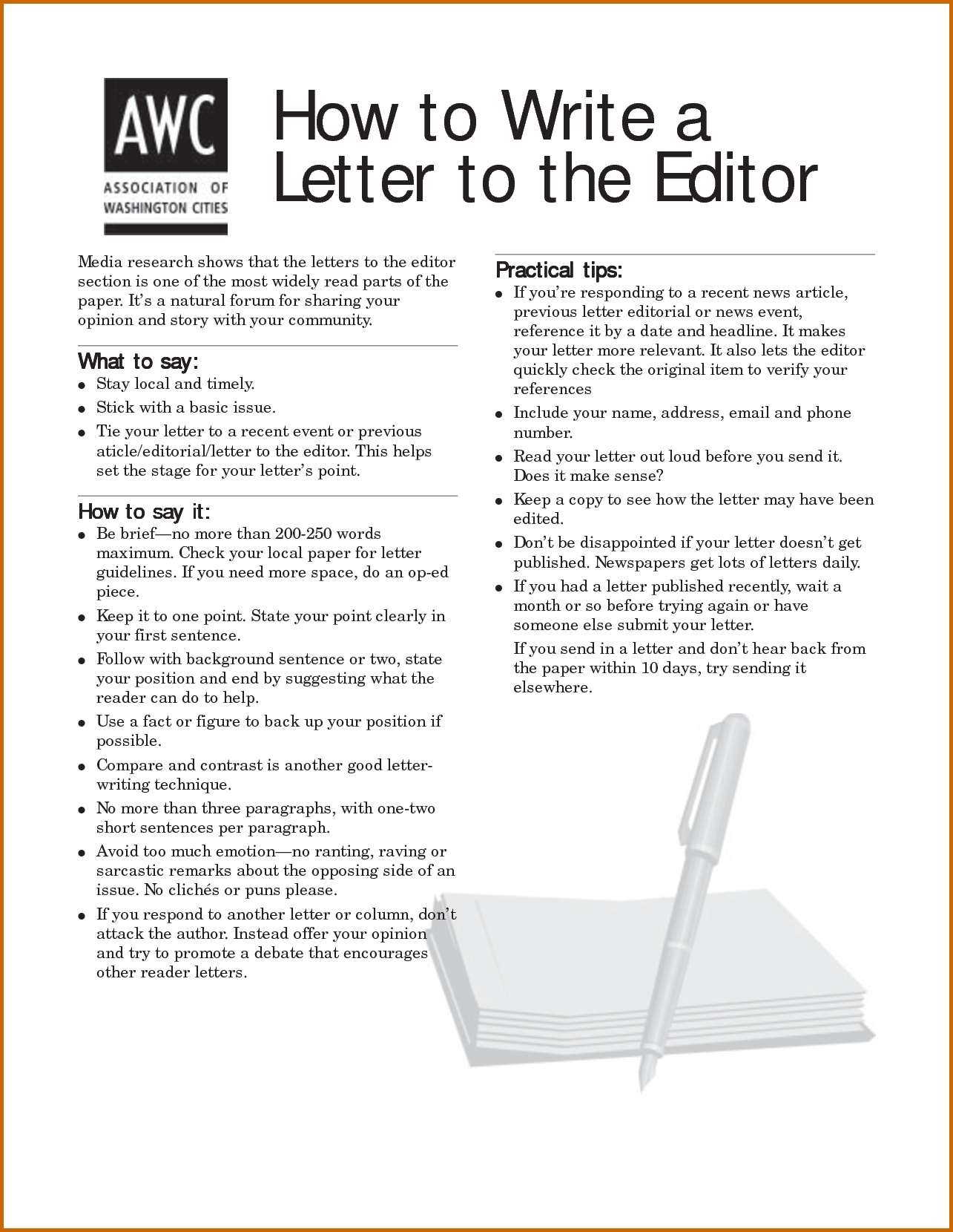 10 Elegant Letter To The Editor Ideas ideas of sample letters to the editor best examples of writing a 2020