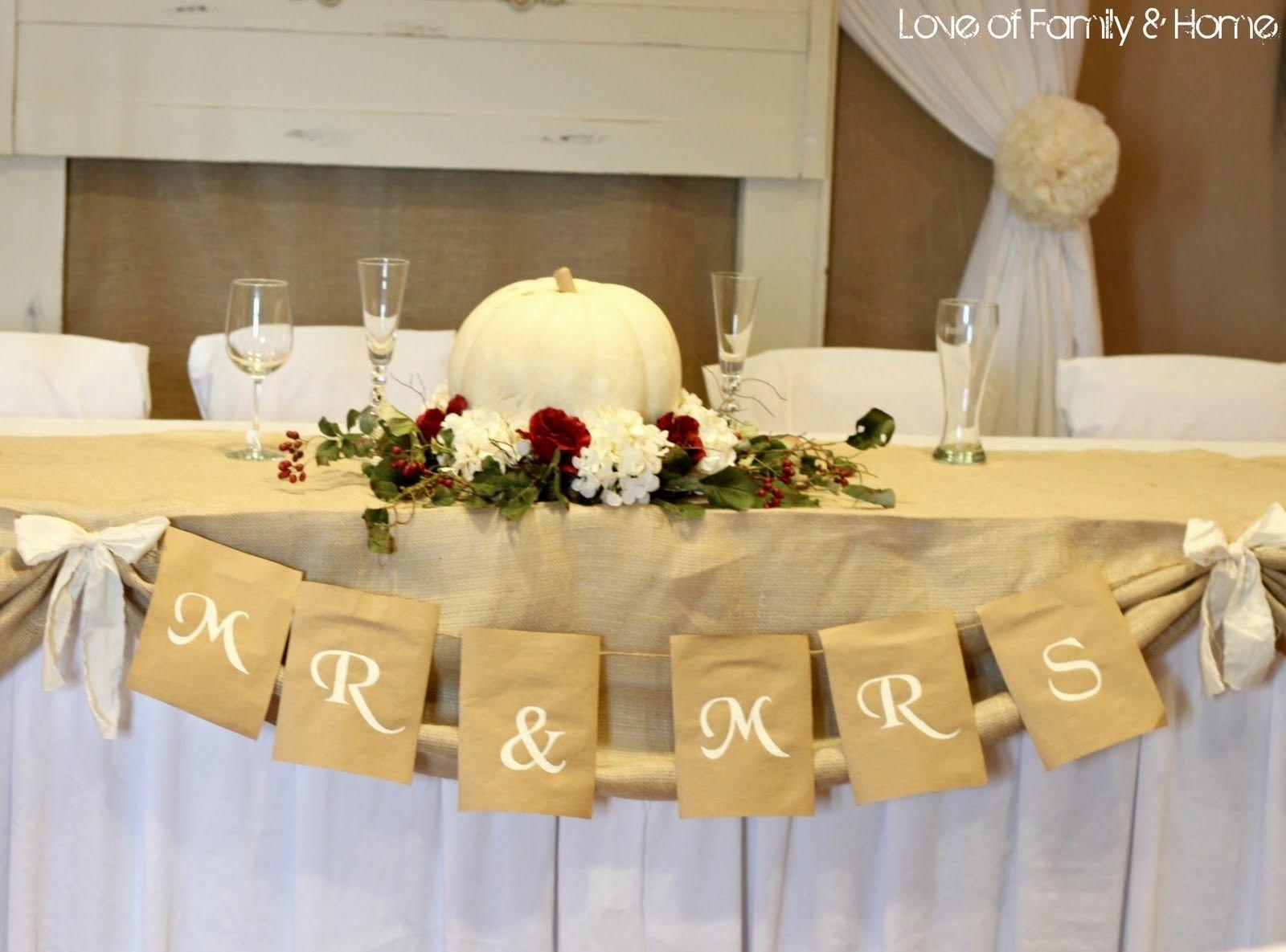 10 Wonderful Cheap Centerpiece Ideas For Wedding ideas on a budget fall wedding decorations diy decoration cheap 2020