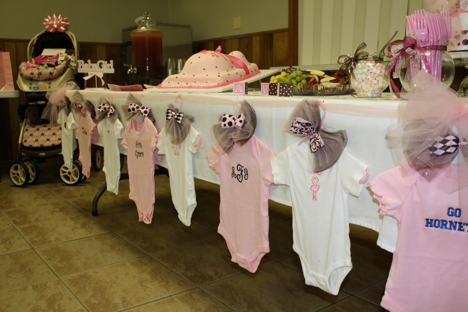 10 Nice Baby Shower Ideas For Girls Decorations ideas pink andrownaby shower decoration tea party favors girl themes