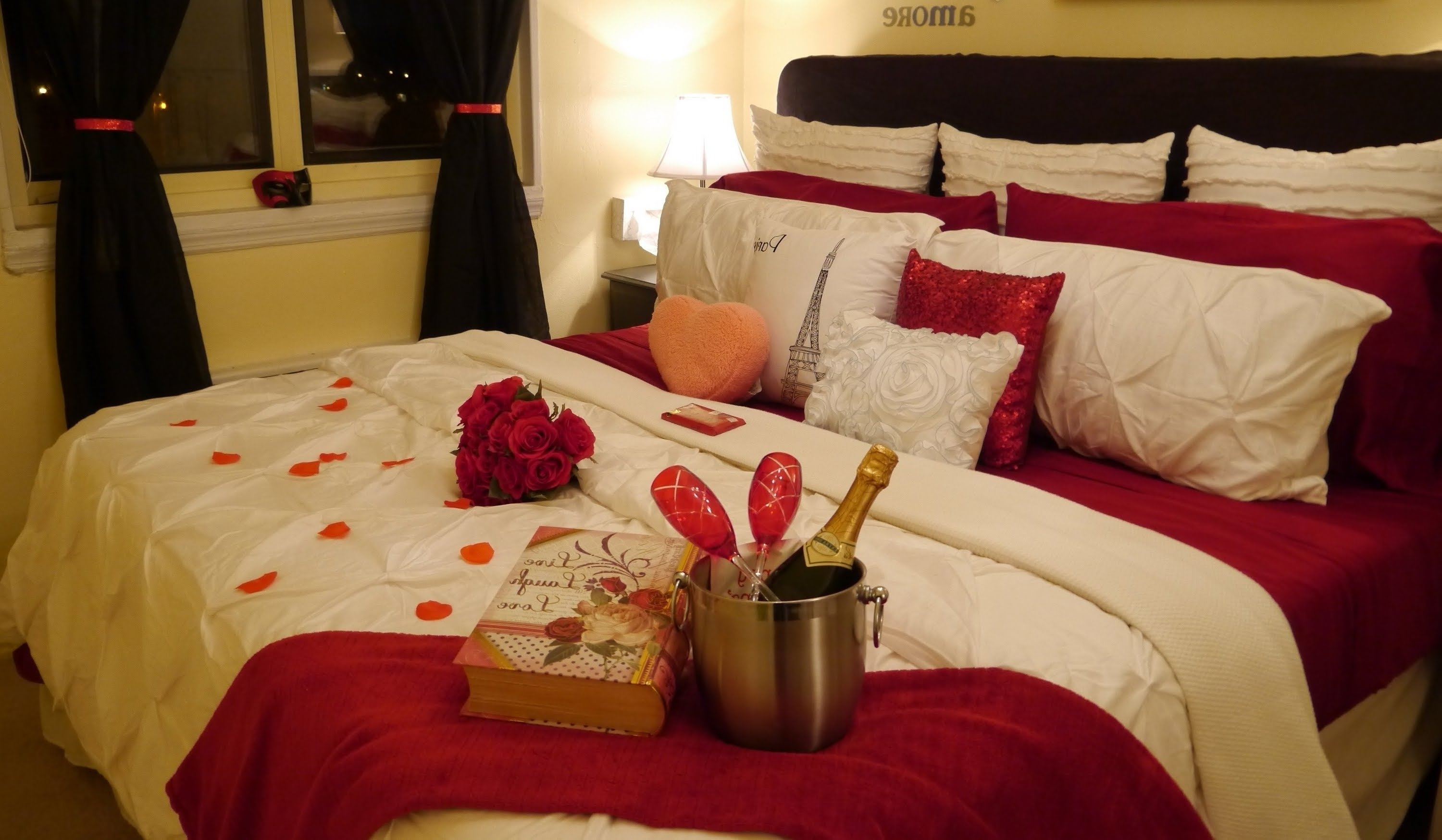 10 Fabulous Ideas For A Romantic Night In A Hotel ideas romantic hotel room ideas 2020