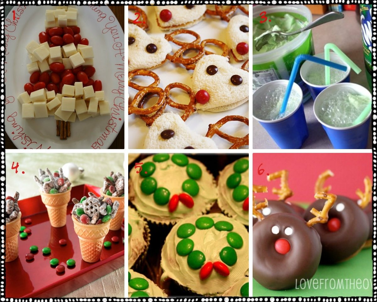 10 Unique Christmas Photo Ideas For Kids ideas snacks kids christmas party tierra este 13441 5