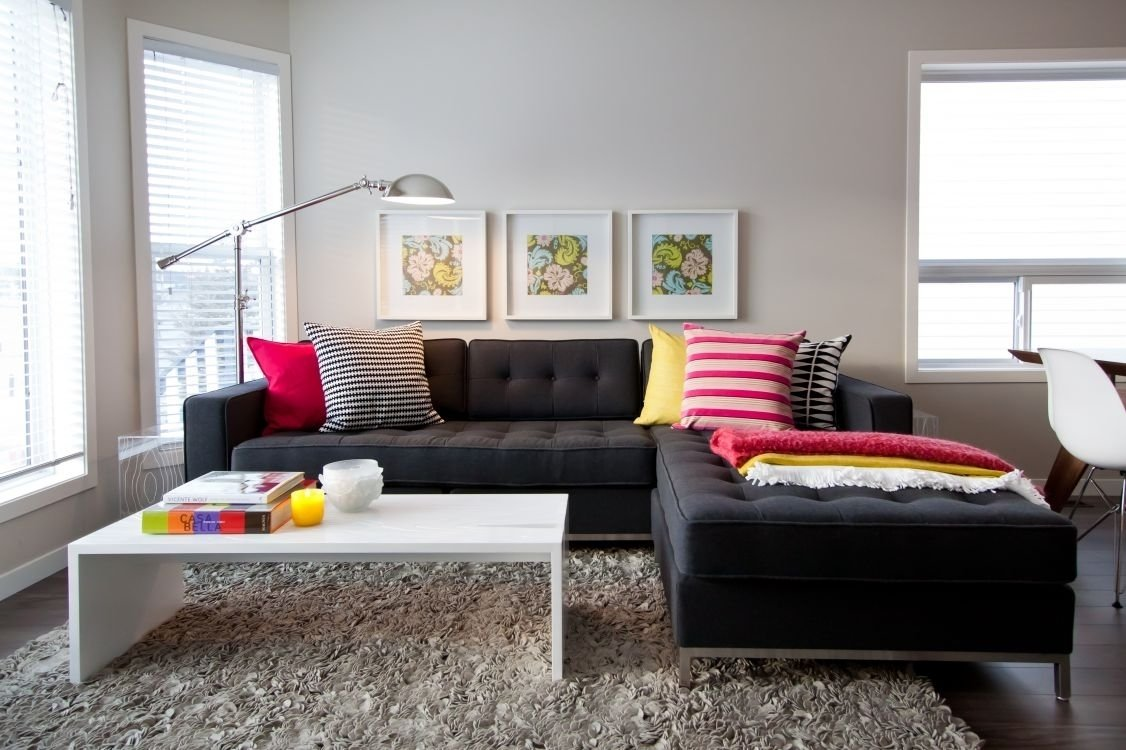 10 Fashionable Black Couch Living Room Ideas ideas to decorate a living room with black sofa living room ideas